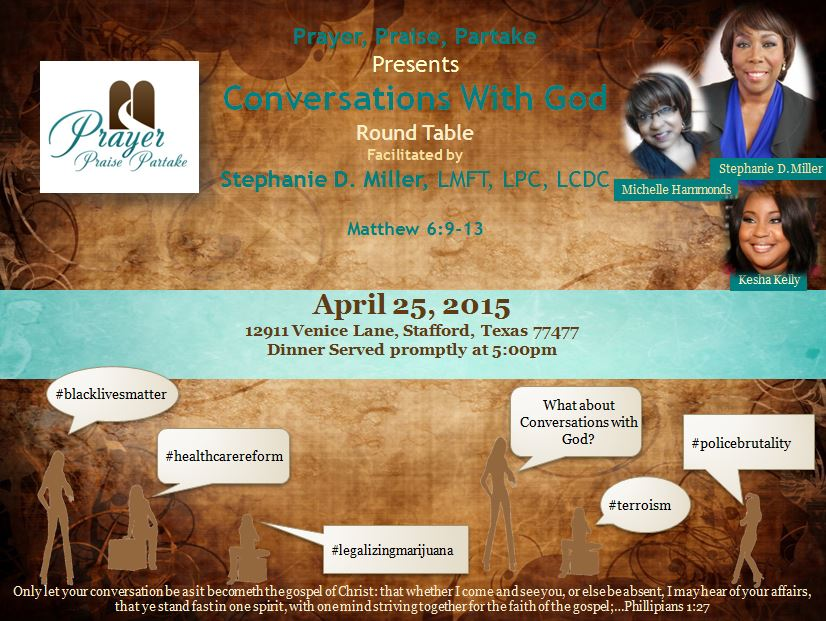 Conversations With God - April 25, 2015